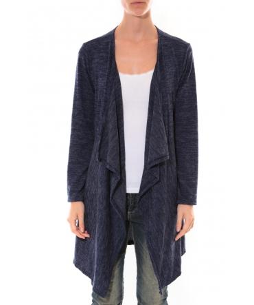 Cardigan Long Fashion Moda Bleu