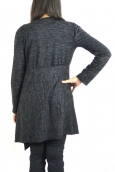Cardigan Long Fashion Moda Noir