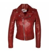 BLOUSON PERFECTO SCHOTT Rouge LCW 1601D