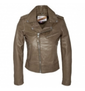 BLOUSON PERFECTO SCHOTT Taupe  LCW 1601D