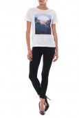 T-shirt Coquelicot Blanc 16423