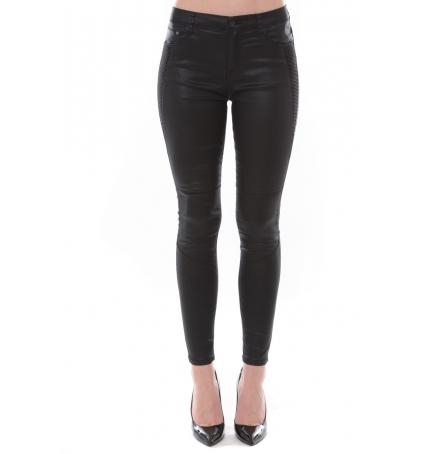 Jean Love Denim Noir couture fantaisie 125P16H-3