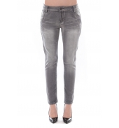 Jean Boy Friend  Denim Avenue Gris