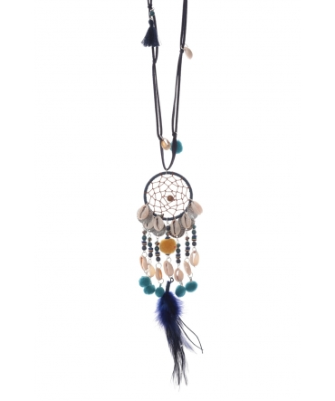 Collier Attrape reves  Fashion Jewelery 104925834 Bleu