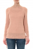 Pull Lacets Rose