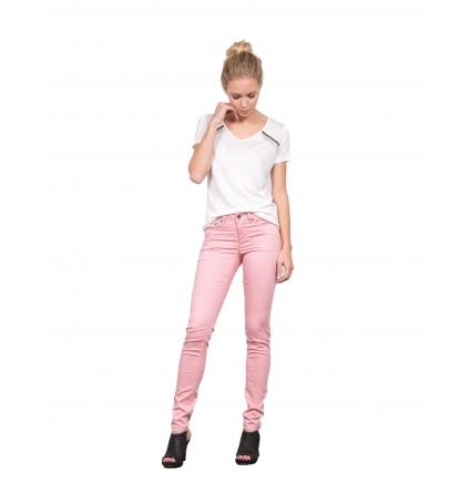Les Petites bombes Pantalon Slim Regular Vieux Rose  S171201