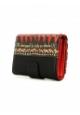 Desigual Portefeuille Noir et Rouge MONE LENGUETA 61Y53C4