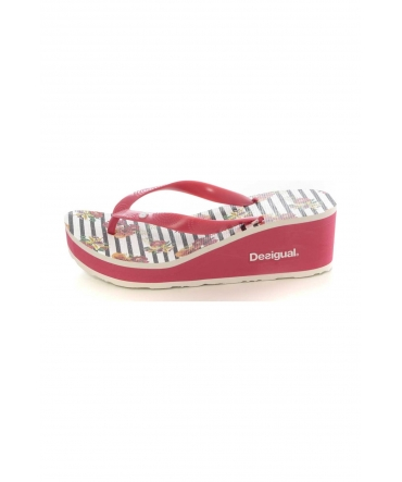 Desigual Shoes_Lola Flores & Rayas Rouge 74HSED8