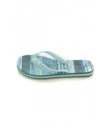 Desigual Shoes_Flip Flop Blue Aquarella 74HSEC0