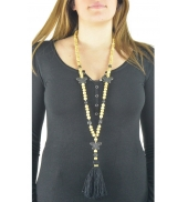 Collier sautoir Fashion Jewelry Noir