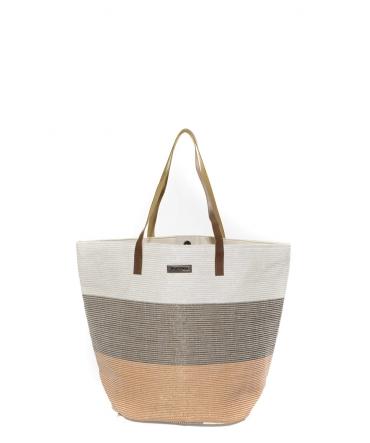 Les Tropeziennes Sac Shopping RAI01-TZ-CORAL
