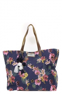 Les Tropeziennes Sac Shopping MAY02-TZ-BLUE