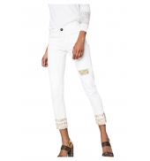 Desigual Jeans Dreams 5  Blanc 72D2WC4