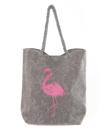 Sac Flamingo Gris