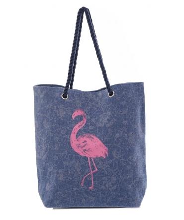 Sac Flamingo Bleu