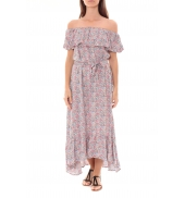 Robe Longue Care  of you Fleuri Rose