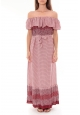 Robe Longue Care  of you  Rouge F50055