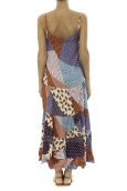 Robe Longue patchwork  Care of you Mutilcolor 1
