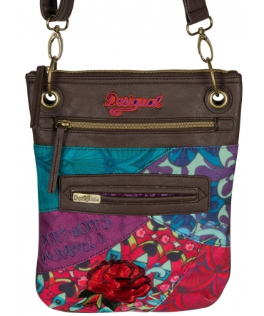 Sac Desigual  BANDOLERA ADDITION Multicolore 47X5270