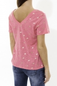 Tee Shirt Zinka Rose signe or KT107