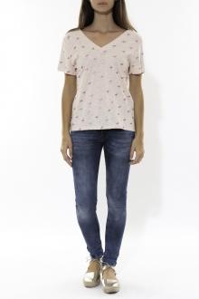 Tee Shirt Zinka Beige signe Rose KT107