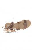 Sandale  Taupe attache corde SP7085-NR