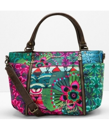 Sac Desigual Purple Jungle Sevilla Rep 59X52W5