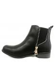 Cassis Côte D'azur LUTY  Boots Noir a talons