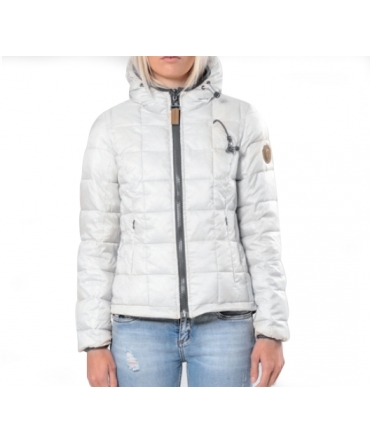 Blouson Rév. ML Cap. - Ecouteurs inclus 80DB Nicki  Pure White/Carbon