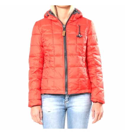 Blouson Rév. ML Cap. - Ecouteurs inclus 80DB Nicki  Red/MetalGun