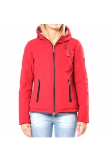 Blouson ML Capuche - Ecouteurs inclus 80DB Sally Deep Red