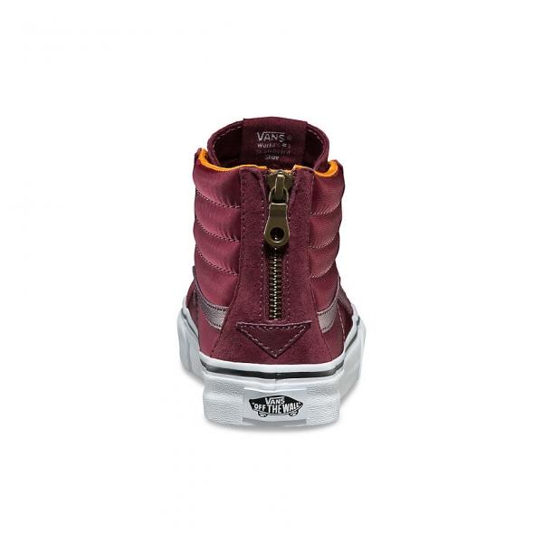 Vitrine Slim Vans Chaussures A38groc7 Bordeaux De La Hi Zip Sk8 r8IIqwZxd