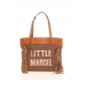 Little Marcel Sac Shopping Victoire Beige VI 01