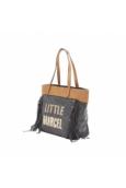 Little Marcel Sac Shopping Victoire Noir VI 01