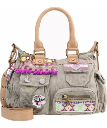 Desigual London Mini Military Luxe Vert 71X9JC6