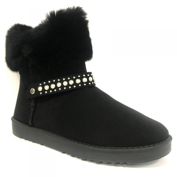 Boots, Bottines Nice Shoes Boots Noir KB-032