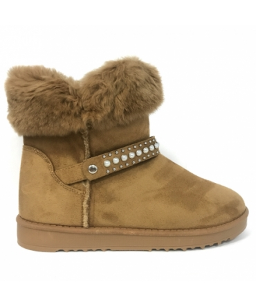 Nice Shoes Boots Camel KB-032