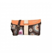 Sac Desigual Bols Clutch Fringes Pure Marron 50X51F2