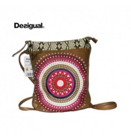 Sac Desigual New Bag Flecos Marron 41X5080