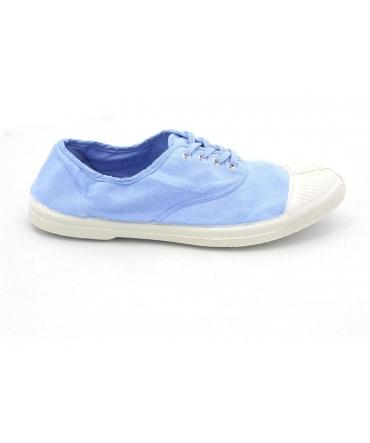 Bensimon Tennis à lacets Bleu Clair