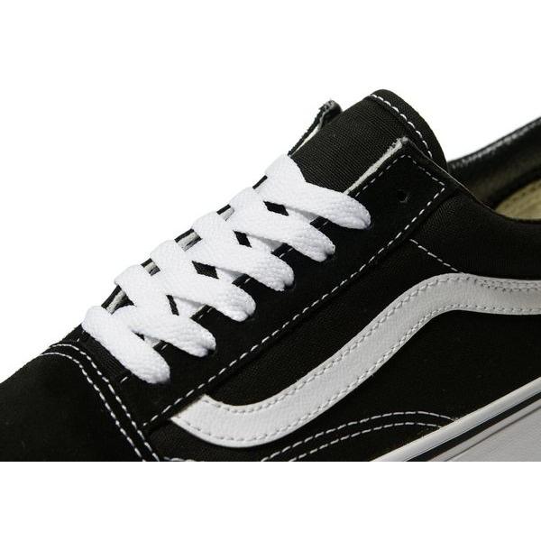 vans blanche bande noir