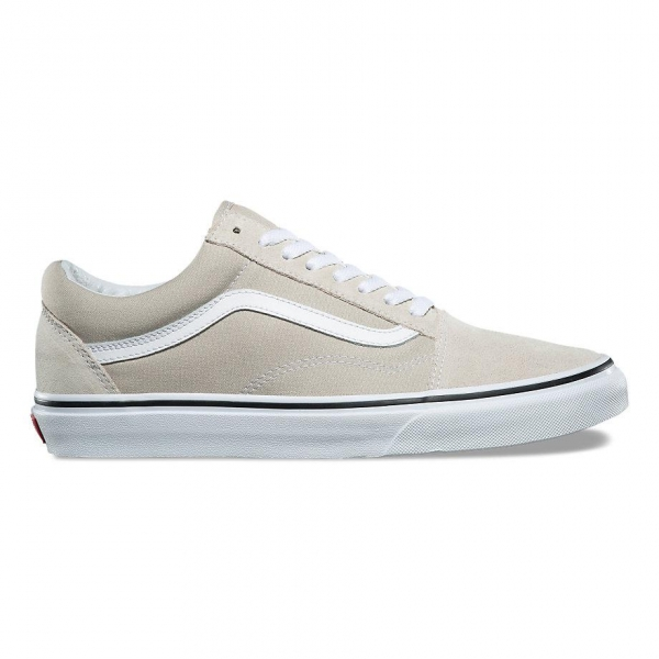 Baskets Vans Old Skool Silver Lining/True White A38G1QA3 kdZqM1tzu