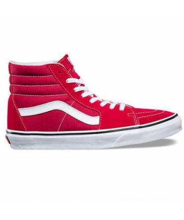 Vans SK8-HI Crimson/True White Rouge A38GEQ9U
