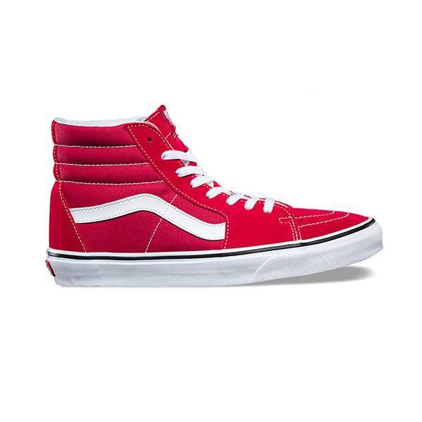 Vans SK8-HI Crimson/True White Rouge A38GEQ9U ...