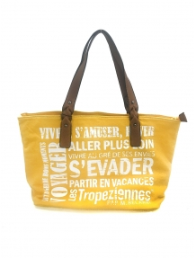 Les Tropeziennes Sac Shopping HER02-TZ-YELLOW