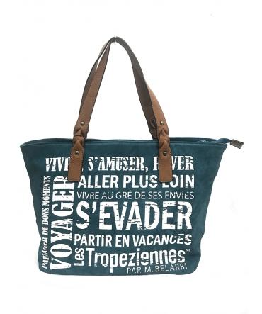 Les Tropeziennes Sac Shopping HER02-TZ-BLEU
