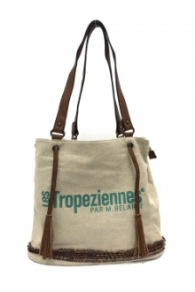 Les Tropeziennes Sac a Main DES02-TZ-BLUE