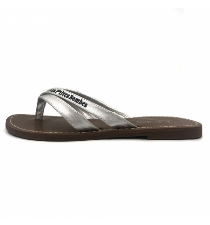 Tongs LBP Shoes Kalinda Argent