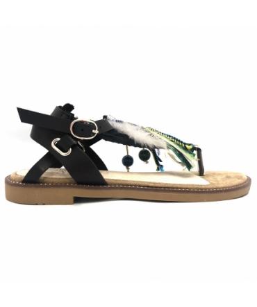 Sandale ethnique AVIA Noir