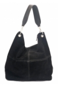 Les Tropeziennes  Sac porte epaule cuir WIE01 BLACK